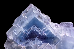 Ice Blue Phantom Fluorite