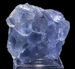 Glassy Blue Spanish Fluorite