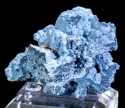 Shattuckite from Namibia