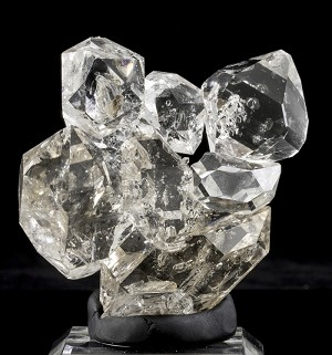 "Large Herkimer ""Diamond"" Quartz Cluster"