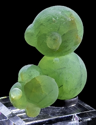 Large Prehnite Ball Cluster