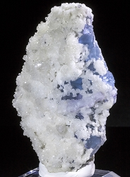 Blue Fluorite & Calcite