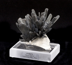 Stibnite on Matrix