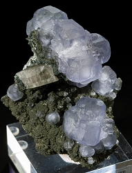 Fluorapatite & Fluorite from Panasqueira Mine, Portugal