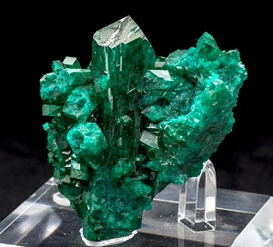 Huge Dioptase Crystal