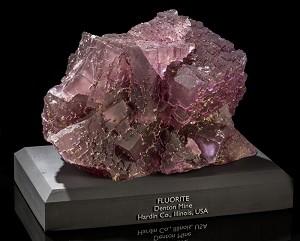Stepped Purple Fluorite