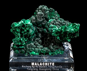 Cat's Eye Malachite from China