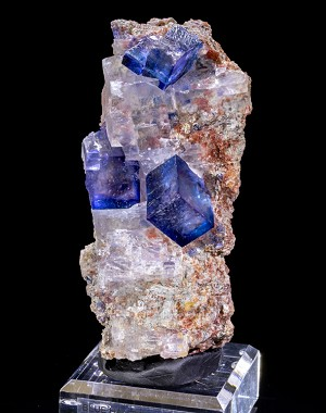 Large Blue Halite on Sylvite