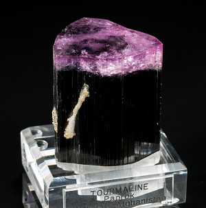 Purple-Cap Tourmaline from Paprok, Afghanistan