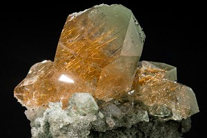 Indian Rutilated Quartz & Anatase